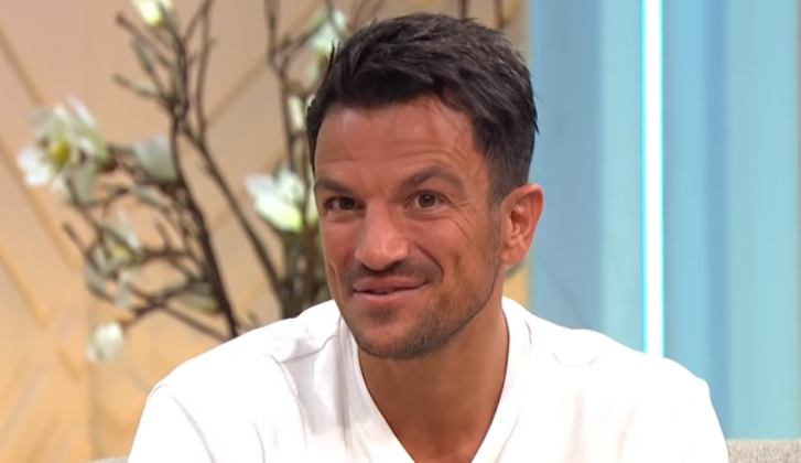 Peter Andre is angstig