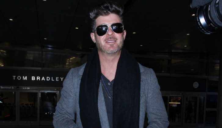 Robin Thicke weer vader