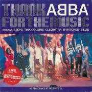 Coverafbeelding Steps & Tina Cousins & Cleopatra & B*Witched & Billie - Thank ABBA For The Music