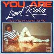 Informatie Top 40-hit Lionel Richie - You Are