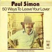Coverafbeelding Paul Simon - 50 Ways To Leave Your Lover