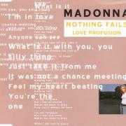 Coverafbeelding Madonna - Nothing Fails/ Love Profusion