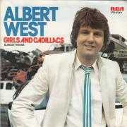Coverafbeelding Albert West - Girls And Cadillacs