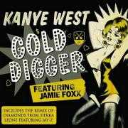 Coverafbeelding Kanye West featuring Jamie Foxx - Gold Digger