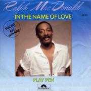 Coverafbeelding Ralph MacDonald - vocals Bill Withers - In The Name Of Love
