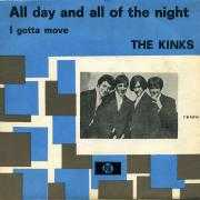 Coverafbeelding The Kinks - All Day And All Of The Night