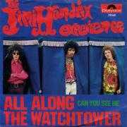 Coverafbeelding The Jimi Hendrix Experience - All Along The Watchtower