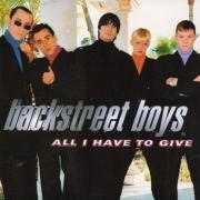 Coverafbeelding Backstreet Boys - All I Have To Give