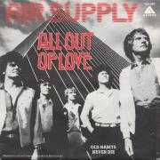Coverafbeelding Air Supply - All Out Of Love
