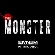 Coverafbeelding eminem ft. rihanna - the monster