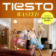 Coverafbeelding Tiësto featuring Matthew Koma - Wasted