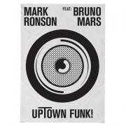 Coverafbeelding Mark Ronson feat: Bruno Mars - Uptown funk!