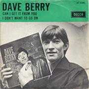Coverafbeelding Dave Berry - Can I Get It From You