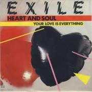 Coverafbeelding Exile - Heart And Soul