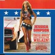 Coverafbeelding Jessica Simpson - These Boots Are Made For Walkin'