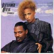 Coverafbeelding Alexander O'Neal featuring Cherrelle - Never Knew Love Like This