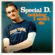 Informatie Top 40-hit Special D. - Nothing I Won't Do