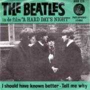 Coverafbeelding The Beatles - I Should Have Known Better