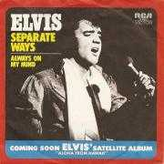 Coverafbeelding Elvis - Separate Ways