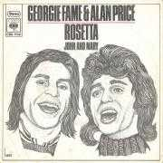 Trackinfo Georgie Fame & Alan Price - Rosetta