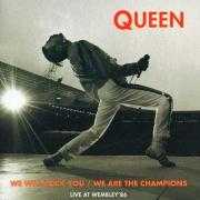 Coverafbeelding Queen - We Will Rock You/ We Are The Champions - Live At Wembley'86