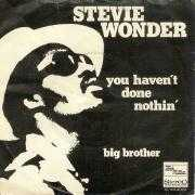 Coverafbeelding Stevie Wonder - You Haven't Done Nothin'