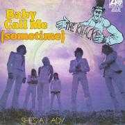Coverafbeelding The Knack ((NLD)) - Baby Call Me (Sometime)
