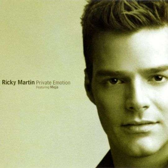Coverafbeelding Private Emotion - Ricky Martin Featuring Meja