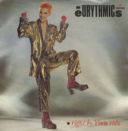 Coverafbeelding Right By Your Side - Eurythmics