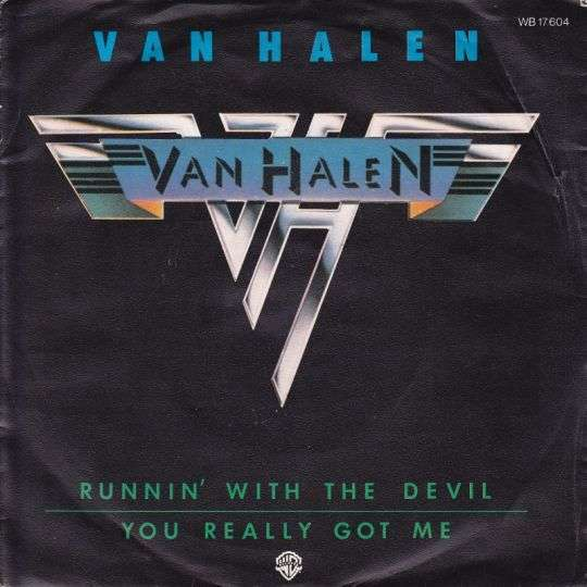 Coverafbeelding Van Halen - Runnin' With The Devil