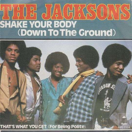 Coverafbeelding Shake Your Body (Down To The Ground) - The Jacksons
