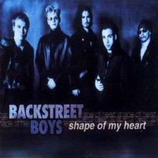 Coverafbeelding Shape Of My Heart - Backstreet Boys