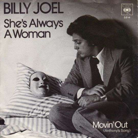 Coverafbeelding She's Always A Woman - Billy Joel