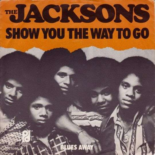 Coverafbeelding Show You The Way To Go - The Jacksons