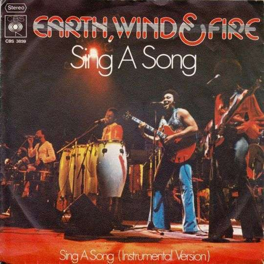 Coverafbeelding Sing A Song - Earth, Wind & Fire