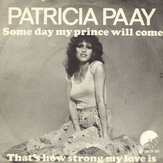 Coverafbeelding Some Day My Prince Will Come - Patricia Paay