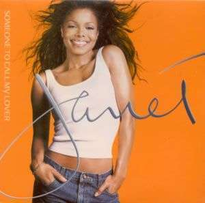 Coverafbeelding Janet - Someone To Call My Lover
