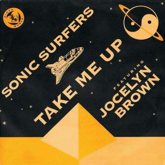 Coverafbeelding Take Me Up - Sonic Surfers Featuring Jocelyn Brown