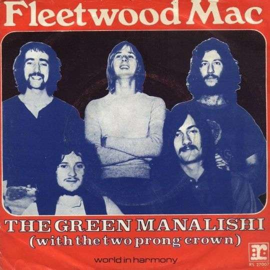 Coverafbeelding The Green Manalishi (With The Two Prong Crown) - Fleetwood Mac