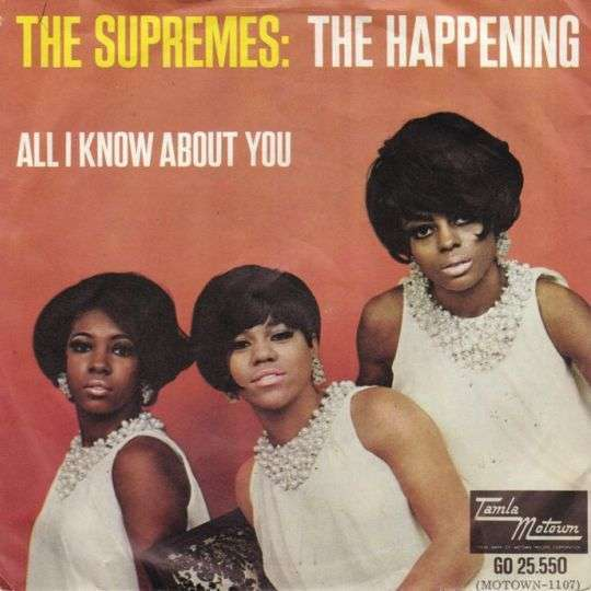 Coverafbeelding The Happening - The Supremes / Diana Ross And The Supremes