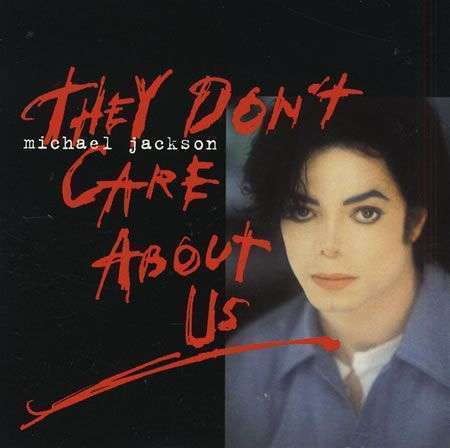 Coverafbeelding They Don't Care About Us - Michael Jackson
