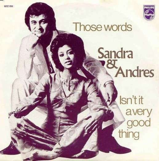 Coverafbeelding Those Words - Sandra & Andres