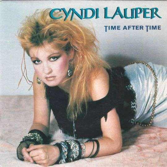 Coverafbeelding Time After Time - Cyndi Lauper