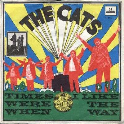 Coverafbeelding Times Were When - The Cats
