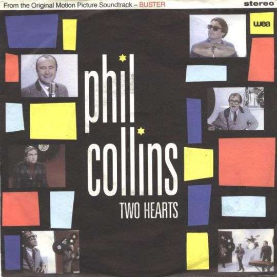 Coverafbeelding Two Hearts - Phil Collins