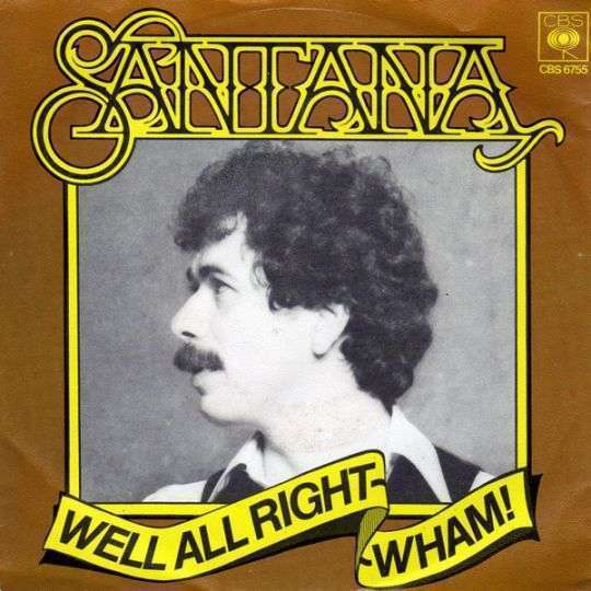 Coverafbeelding Well All Right - Santana