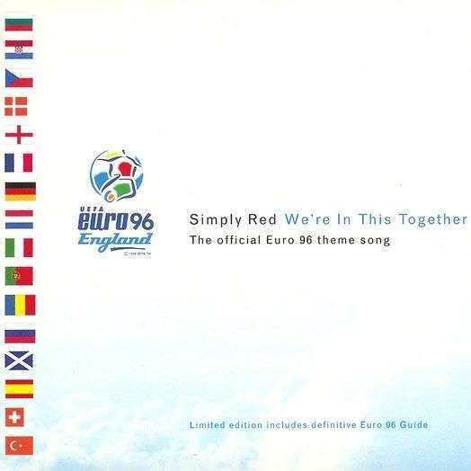 Coverafbeelding We're In This Together - The Official Euro 96 Theme Song - Simply Red