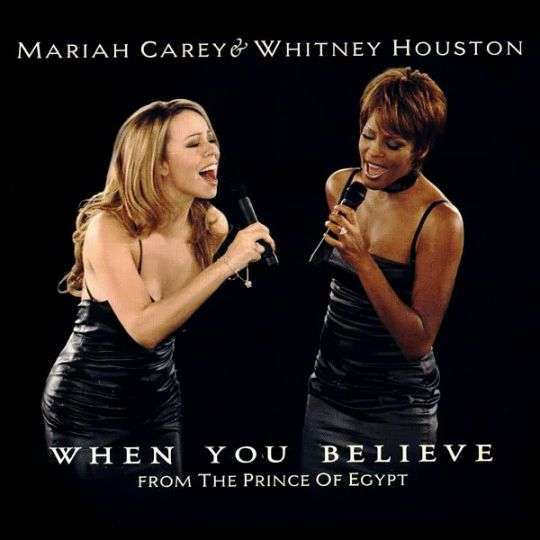 Coverafbeelding When You Believe - Mariah Carey & Whitney Houston