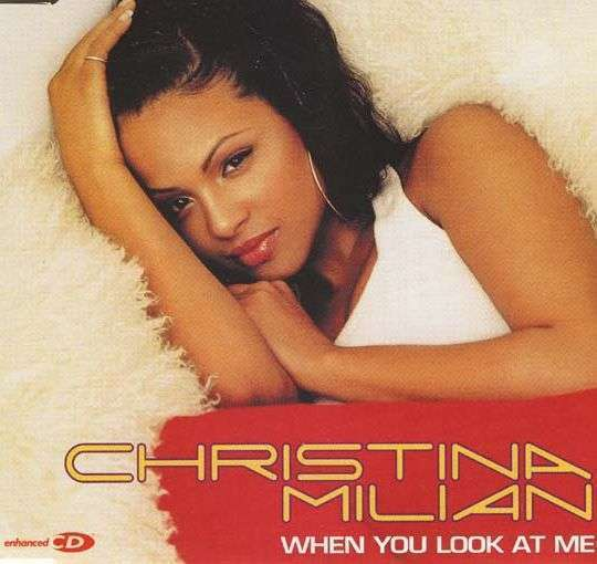 Coverafbeelding When You Look At Me - Christina Milian