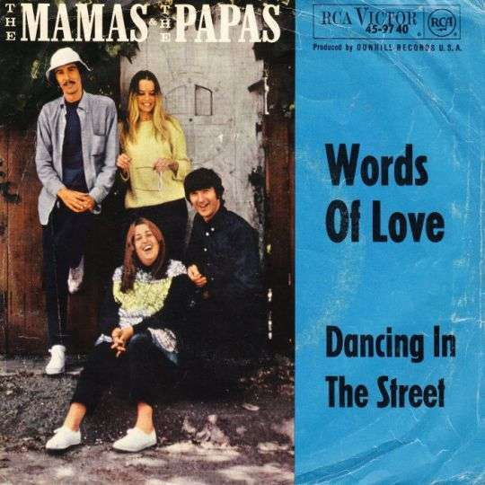 Coverafbeelding Words Of Love - The Mamas & The Papas